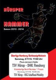 DHK Flensborg - TSV Hürup