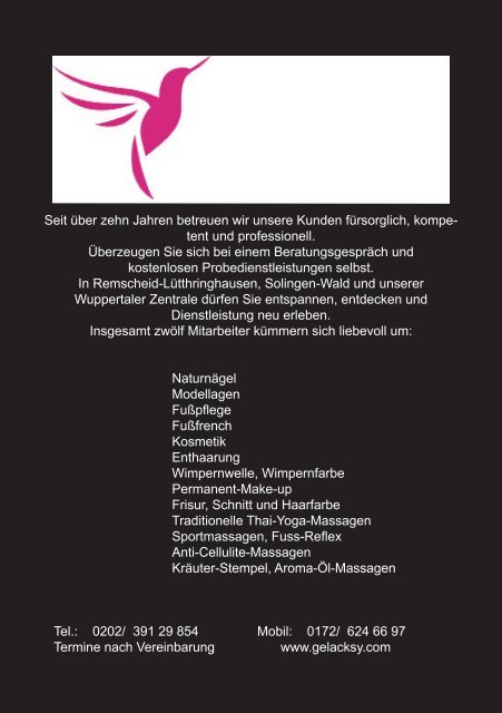 PDF-Download - The logo for Silvane Tesmer