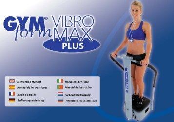 Manual GF VibroMax PLUS