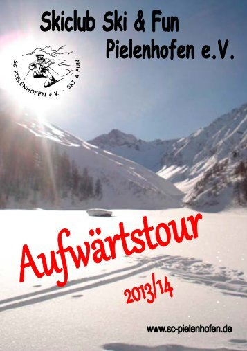 Winterprogrammheft Aufwärtstour 2013/14 - SC Pielenhofen
