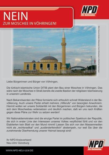 NEIN NEIN - NPD KV Neu-Ulm/Günzburg