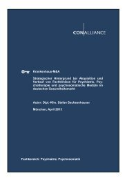 Strategischer Hintergrund bei Akquisition und Verkauf (Mergers ...
