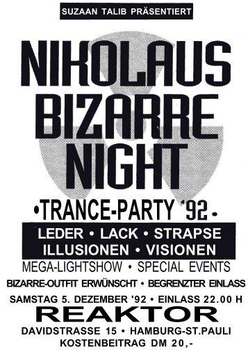 Nikolaus Bizarre Night - Suzaan Talib