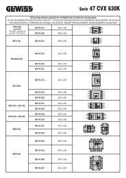 tipologia installazione kit apparecchi scatolati 160-250 ... - gewiss.com