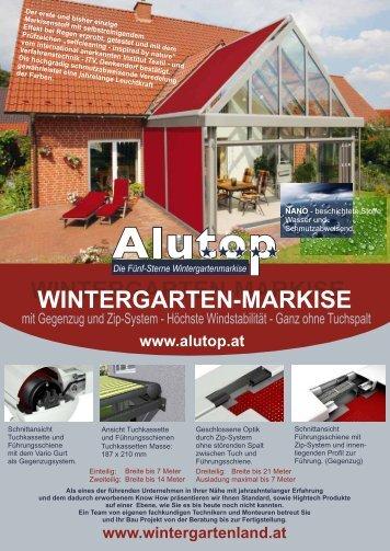 WINTERGARTEN-MARKISE WINTERGARTEN ... - Rollladenland