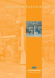 Prospekt IndustrieAutomation - Strothmann