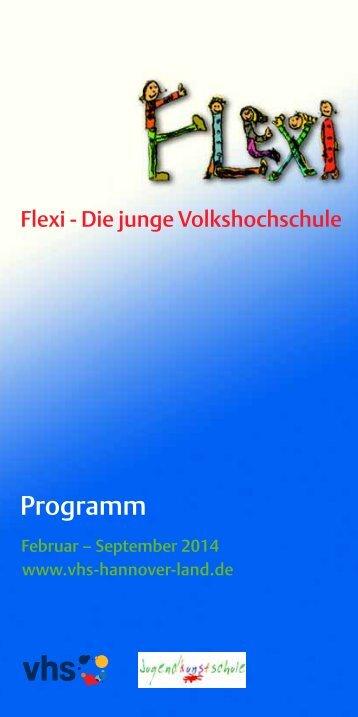 flexi-programm 2014-1 - vhs Hannover Land