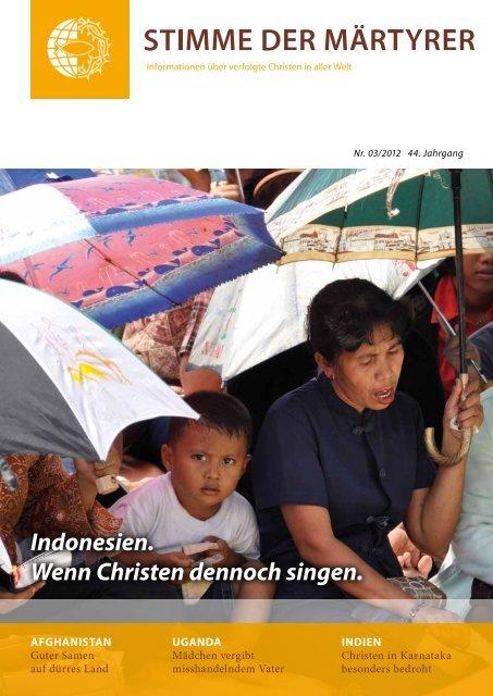 Ausgabe März 2012 - HMK - Hilfe für verfolgte Christen