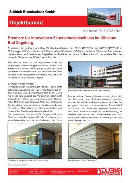 PDF öffnen - Stöbich Brandschutz