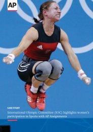 International Olympic Committee (IOC) highlights women's ...