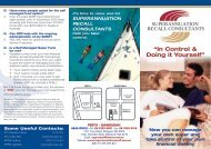 In Control & Doing it Yourself PDF - Superannuation Recall ...