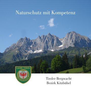 Naturschutz mit Kompetenz - Bergwacht Bezirk Kitzbühel