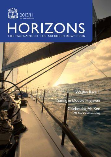 Nov 2013 Issue - the Aberdeen Boat Club