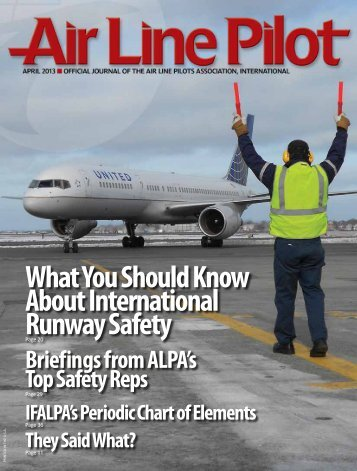 What You Should Know About International Runway Safety