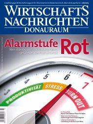 Ausgabe 07/2013 Wirtschaftsnachrichten Donauraum