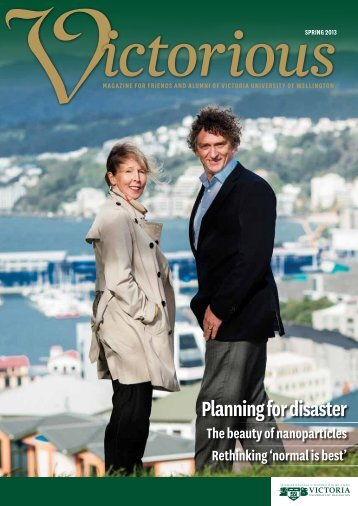 pdf Planning for disaster ... Email - Victoria University of Wellington