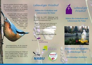 Lebendiger Friedhof - Ev.-luth. Kirchengemeinde Varel
