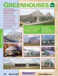 Greenhouses by - Hummert International