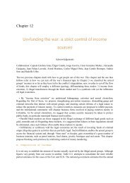 Un-funding the war: a strict control of income ... - PNUD Colombia