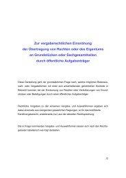 Zur vergaberechtlichen Einordnung der Übertragung von Rechten ...