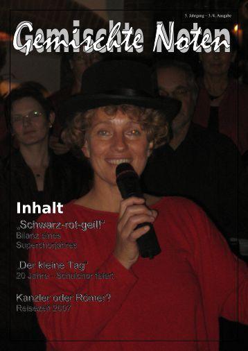 Gemischte Noten 3. Quartal 2006 - gcah.de