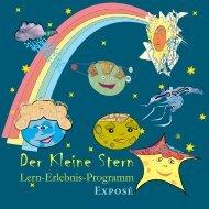 Exposé - 'Der Kleine Stern' Lern-Erlebnis-Programm