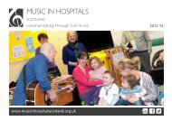 Review - Music in Hospitals Scotland