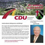 Wir gestalten unsere Heimat Wir gestalten unsere Heimat - CDU ...
