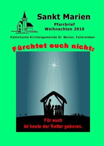 Für Sie erreichbar - St. Marien Fallersleben