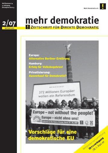 Download - Mehr Demokratie in NRW - Mehr Demokratie eV