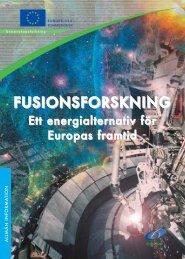 FUSIONSFORSKNING - EFDA