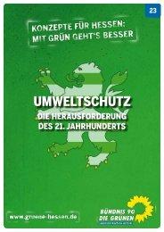UmweltschUtz - Bündnis 90/Die Grünen Hessen