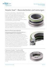 Griploc Seal™ – Besonderheiten und Leistungen - Water Solutions
