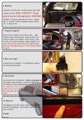 3. Montera gummi tätlist på bilen 1. Montera på framstammen ända ... - Page 2