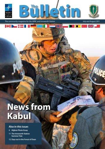 The Bulletin - June 2011 (v2) - ARRC - Nato
