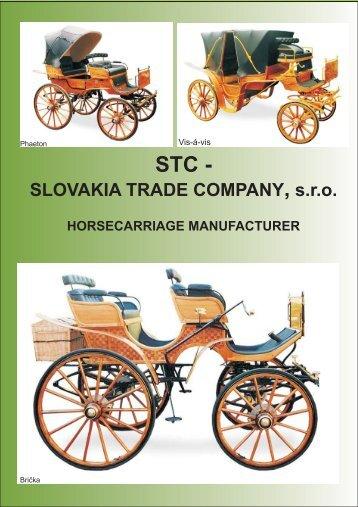 Katalóg kočov - STC - SLOVAKIA TRADE COMPANY, sro
