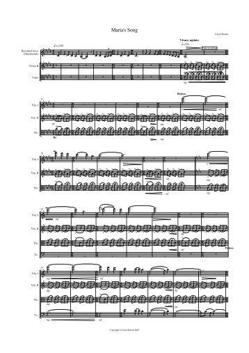 Score Sample - Sounz