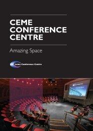 CEME Brochure 2013.pdf - CEME Conference Centre