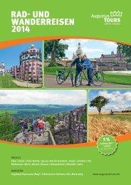 Aktivreisen-Katalog 2014 zum Download - AugustusTours e.K.