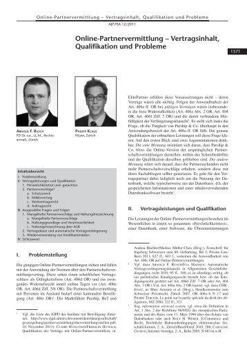 Handelsvertreter partnervermittlung