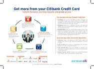 Get More From Your Citibank Credit Card