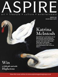 Katrina McIntosh - Aspire Magazine