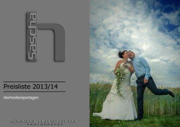 Preisliste 2013/14