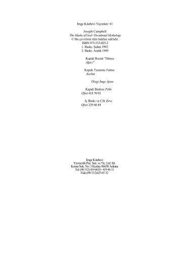 Mitoloji C2 - Batı Mitolojisi - Felsefe Bölümü