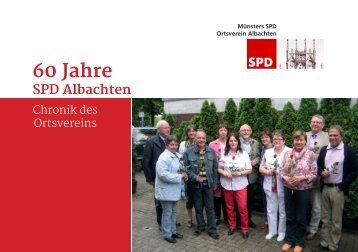 Jubiläumsbroschüre: 60 Jahre SPD Albachten