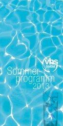 Sommer- programm - VHS SüdOst