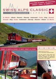 St. Moritz - Swiss Alps Classic Express
