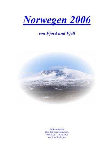 Norwegen 2006 - MG Skandinavien Reisen