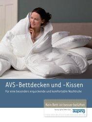 AVS-Bettdecken und -Kissen - Schneider