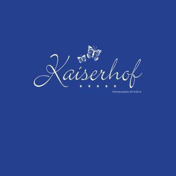 winterpreisliste_13-14_fuer_web.pdf (1,4 MB) - Hotel Kaiserhof